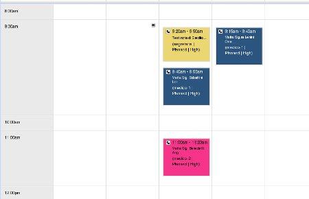 Calendario Colorato per vtiger CRM 5.0.4